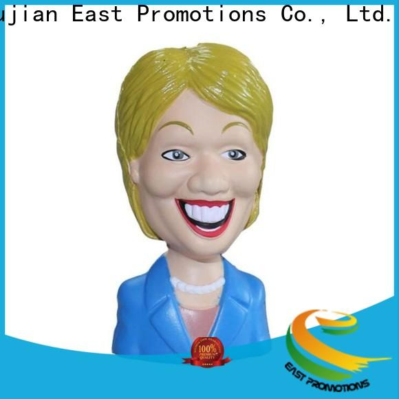 East Promotions custom made stress toys factory direct supply bulk buy