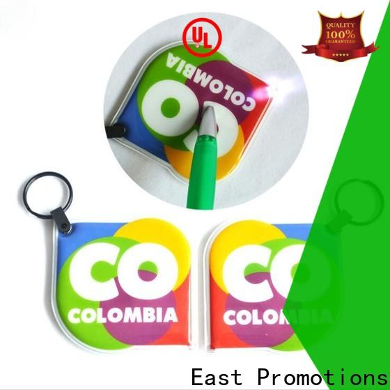 East Promotions custom keychain flashlights supplier for sale