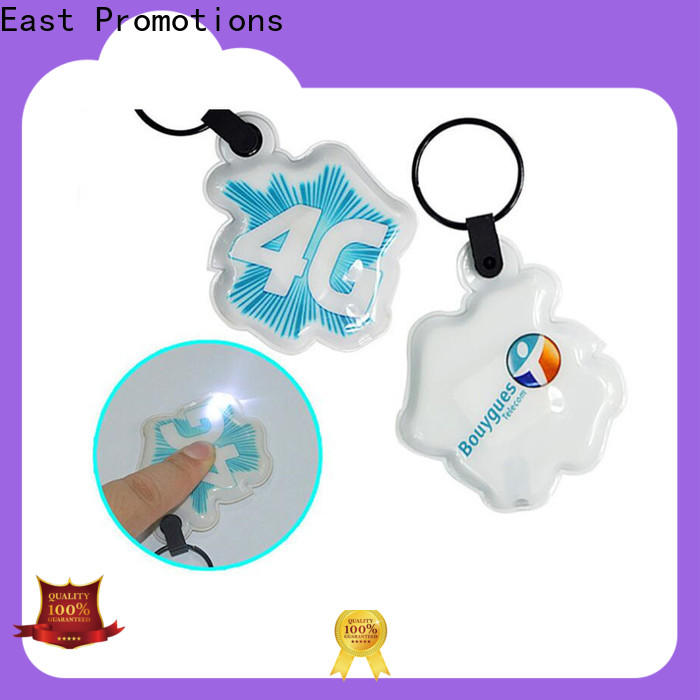 East Promotions led keyring best manufacturer for sale