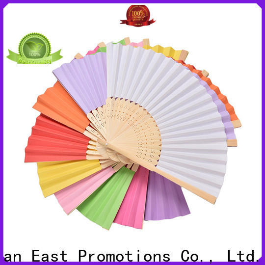 popular fancy hand fans directly sale for gift