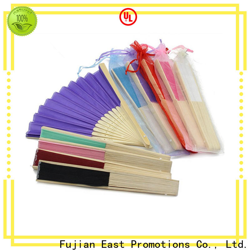 East Promotions high quality folding hand fan from China for decoration
