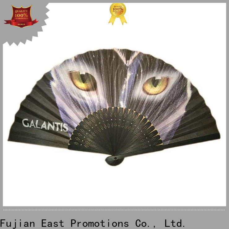 East Promotions paper hand fans inquire now for gift