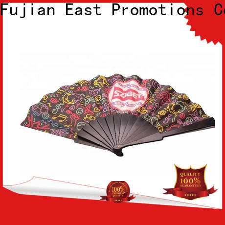 East Promotions top fancy hand fans with good price for gift