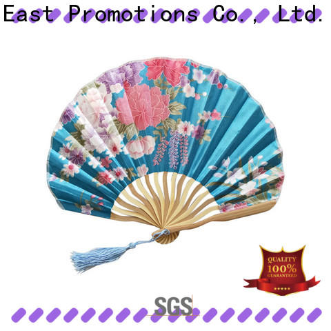 East Promotions top quality foldable hand fan company for gift