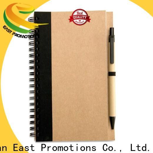 East Promotions latest notebooks in bulk supply bulk production
