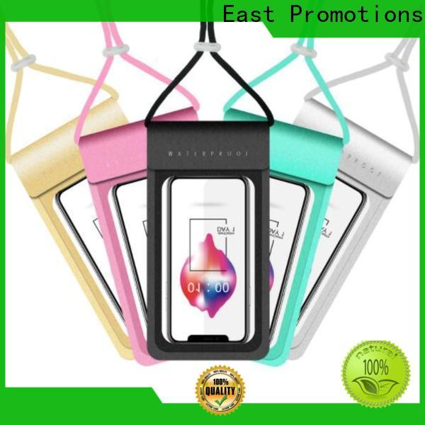 East Promotions cheap waterproof cell phone pouch inquire now for sale