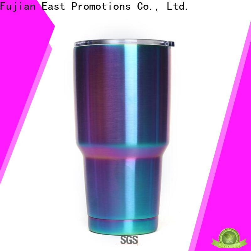 East Promotions stainless steel insulated travel mugs with good price for gift