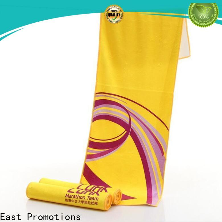 East Promotions personalized sweat towels best supplier for trip