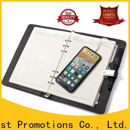 East Promotions hot-sale leather spiral notebook best manufacturer for school