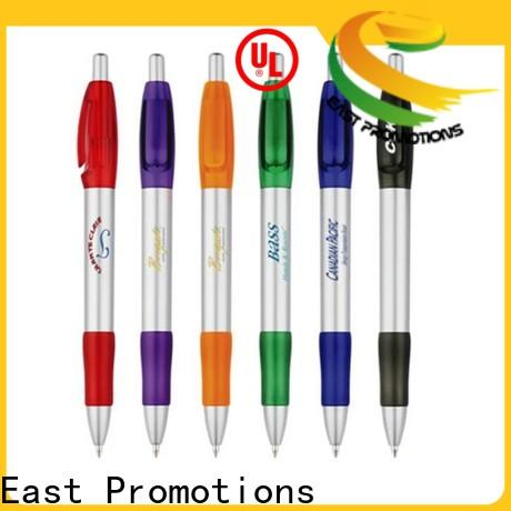 East Promotions cheap retractable ballpen company for school