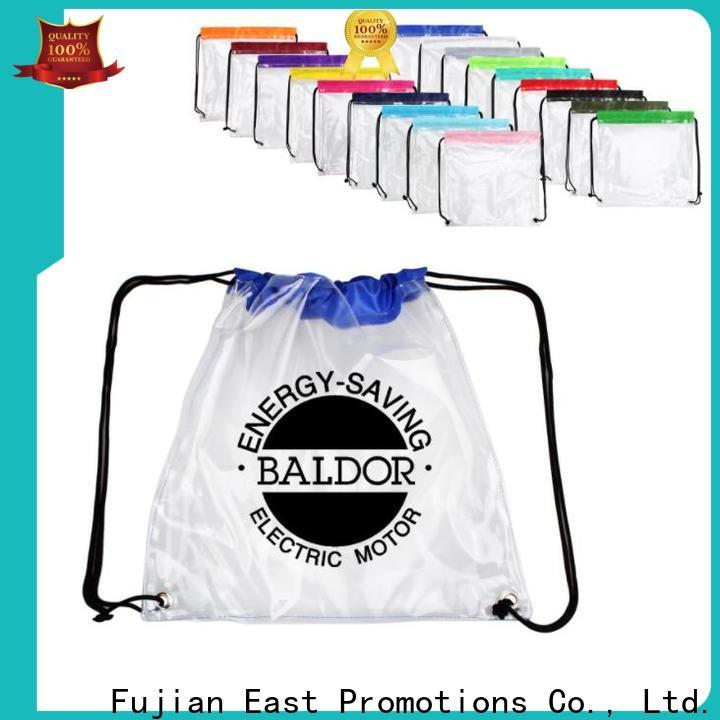 East Promotions mesh drawstring bags factory direct supply for packing