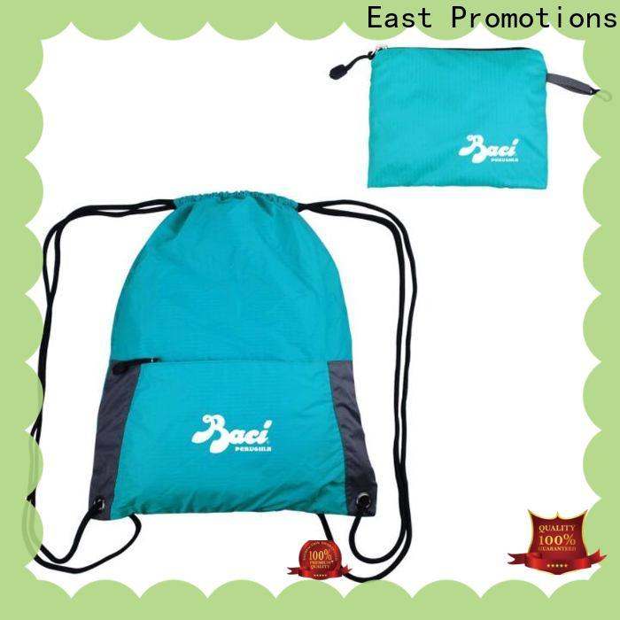 East Promotions childrens drawstring bags suppliers for trip