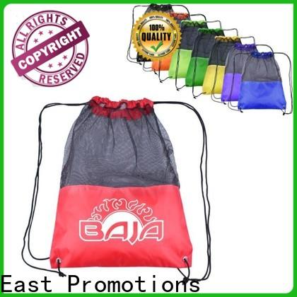 East Promotions drawstring bag custom logo factory direct supply for school