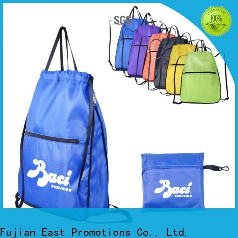 East Promotions low-cost promotional drawstring backpacks series bulk production