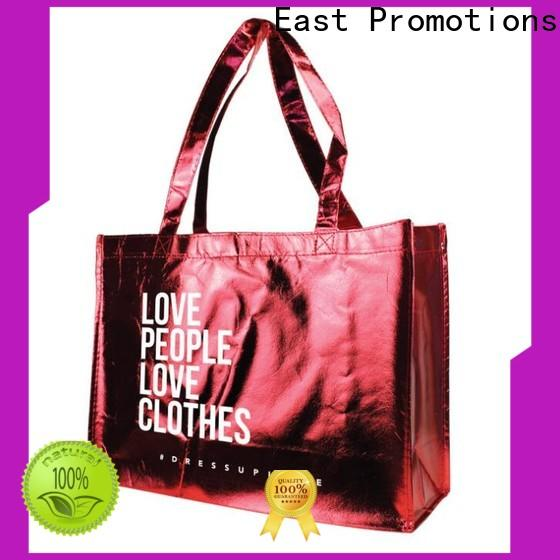 East Promotions high quality personalised canvas bags inquire now for market