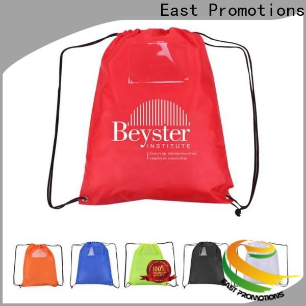 East Promotions soccer drawstring bag directly sale for trip