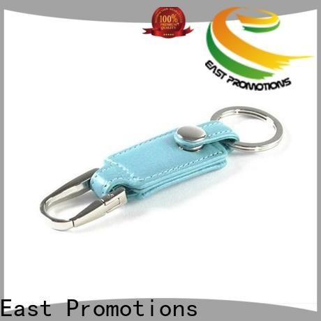 high-quality custom leather keyring supplier for corporate brand promotion