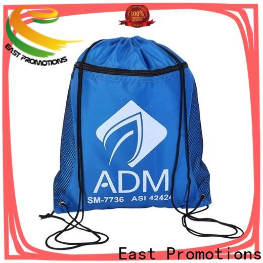East Promotions latest plain drawstring bags from China for gym