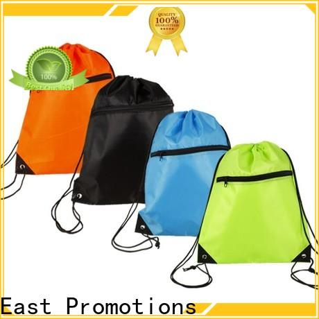 East Promotions low-cost canvas drawstring bags bulk with good price for packing
