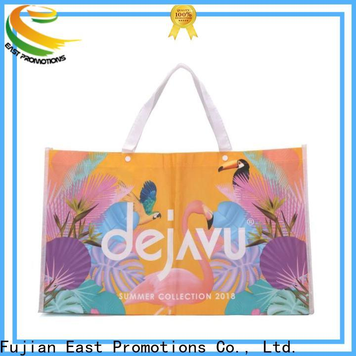 East Promotions personalised shopping bags directly sale for shopping mall