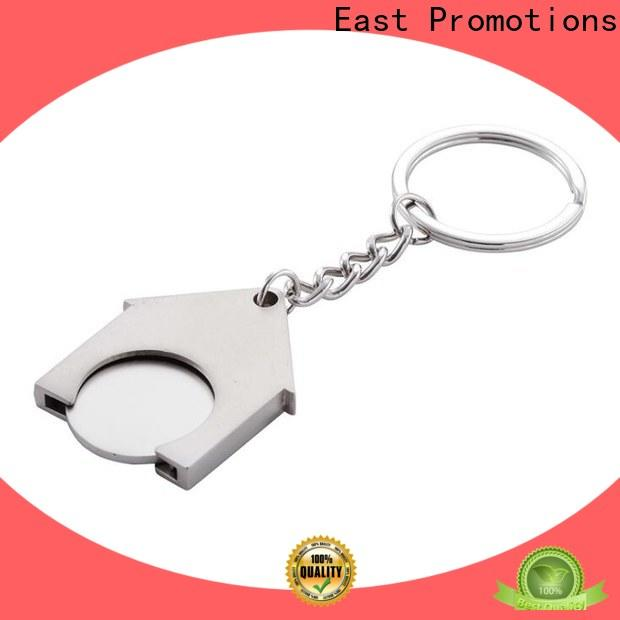 East Promotions new custom shape metal keychains supplier for gift