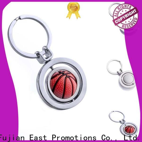 latest promotional metal keyrings wholesale for decoration