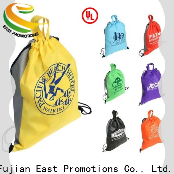 East Promotions durable drawstring bag from China for school