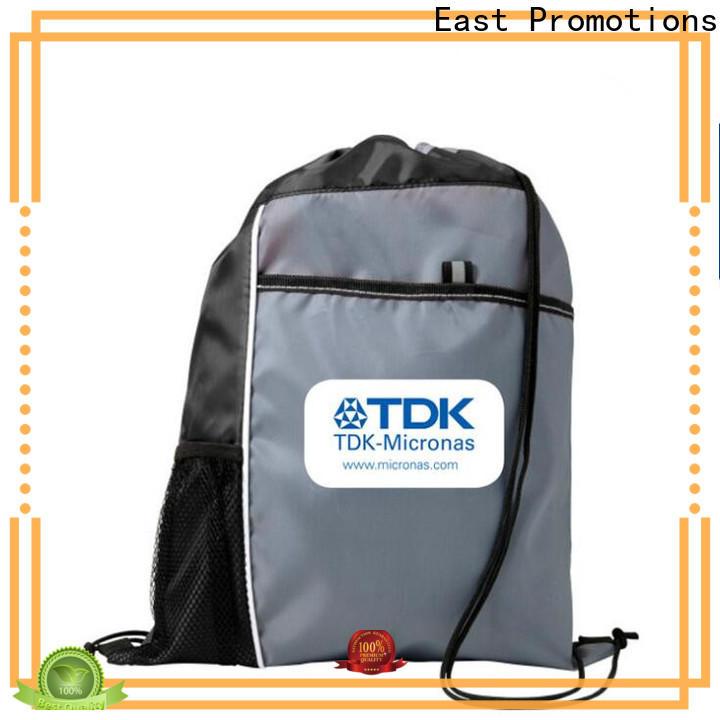 East Promotions soccer drawstring bag manufacturer for gym