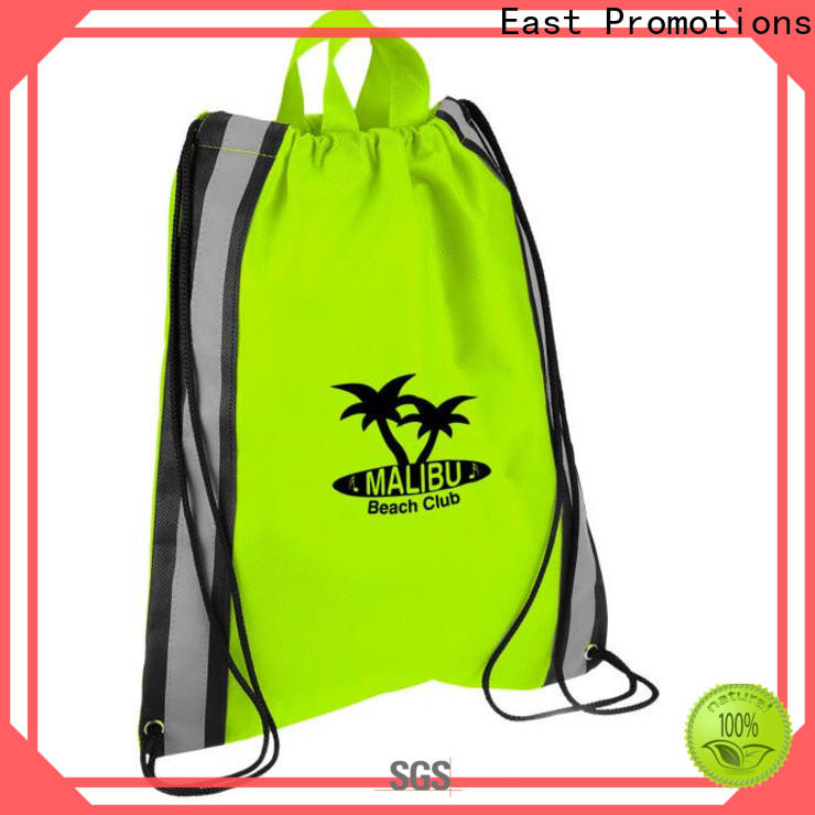 East Promotions best price soccer drawstring bag best supplier bulk production