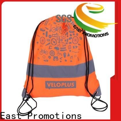 East Promotions popular lightweight drawstring backpack from China for trip