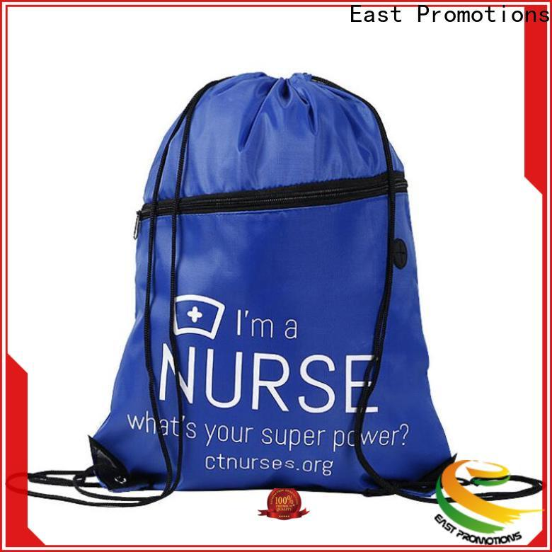 East Promotions professional athletic drawstring bag best manufacturer for traveling