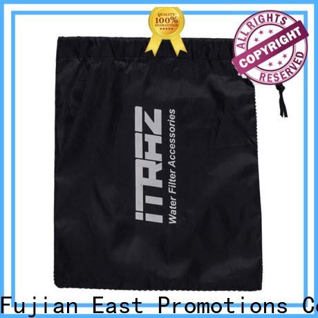 East Promotions plain drawstring bags best manufacturer for packing