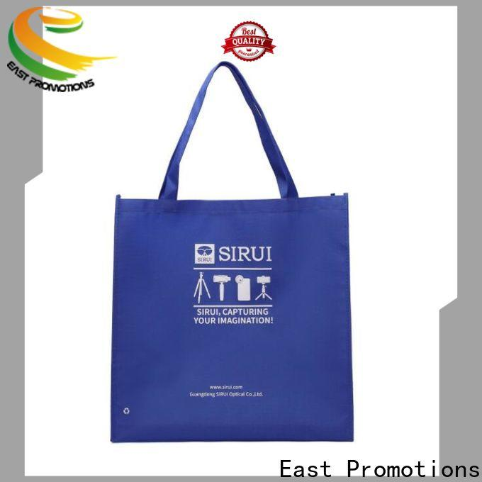East Promotions personalized non woven totes factory direct supply for market