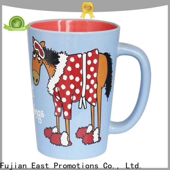 East Promotions top selling promotional mugs supplier for juice