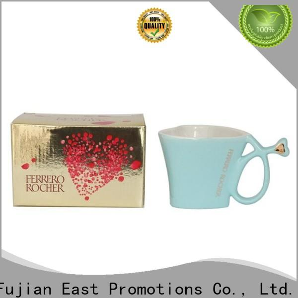 East Promotions ceramic coffee cup manufacturer for coffee