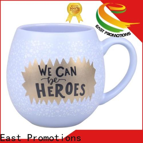 East Promotions top selling promotional mugs supplier for drinking