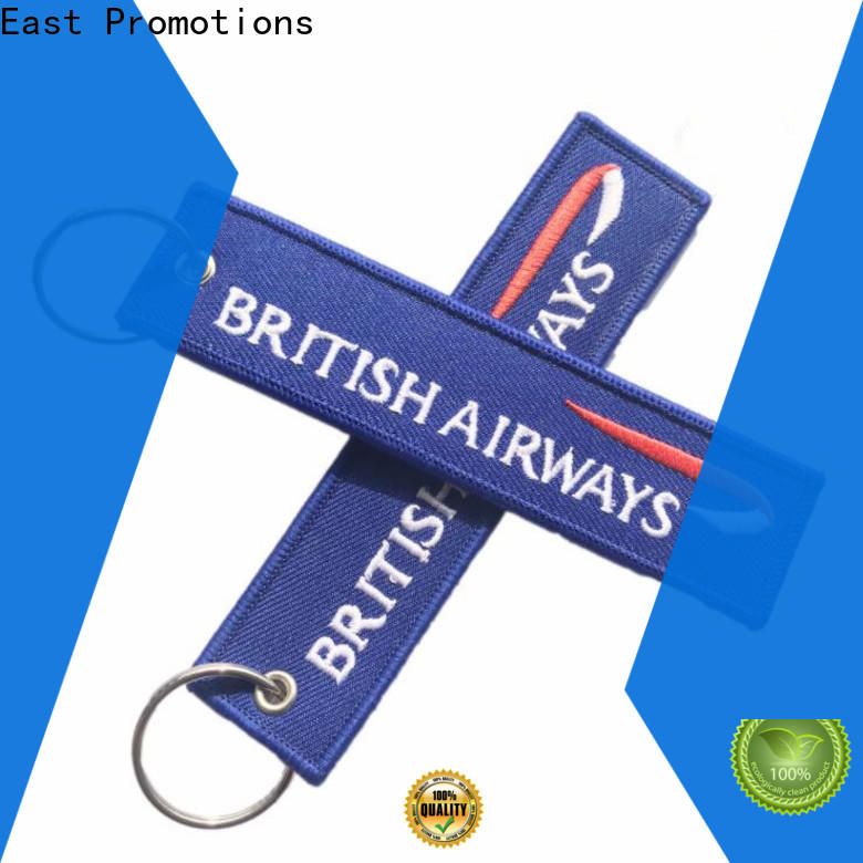 East Promotions promotional fabric keyring from China bulk production