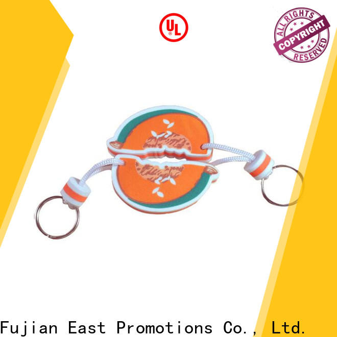 East Promotions keychain logo printing factory direct supply for gift