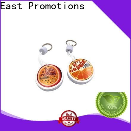 East Promotions worldwide floating foam keychain best manufacturer for gift
