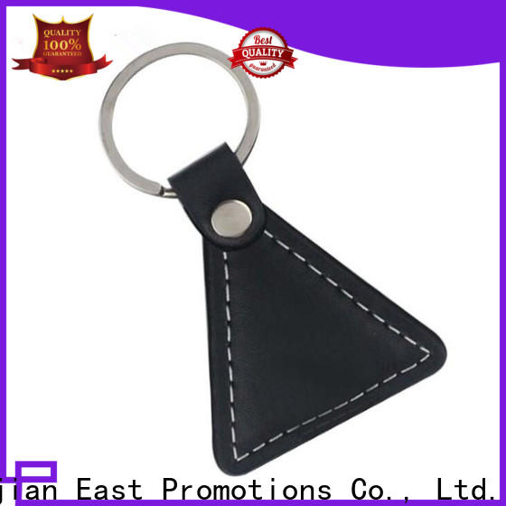 East Promotions worldwide leather ring keychain series for sale