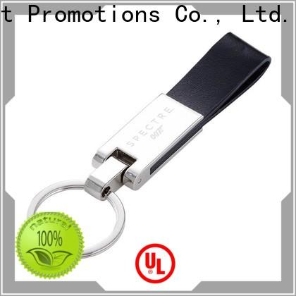 East Promotions cheap personalized leather keyring manufacturer bulk production
