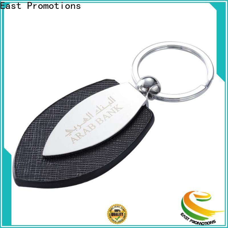 best price leather coordinate keychain from China for souvenirs of school anniversary