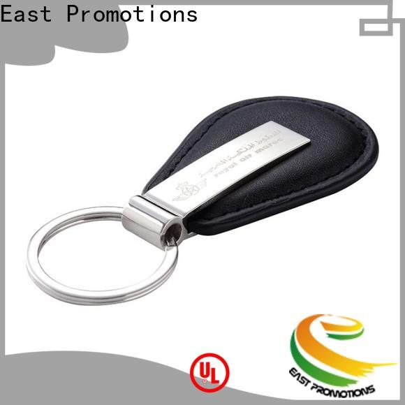high quality leather ring keychain suppliers for tourist attractions souvenirs gifts