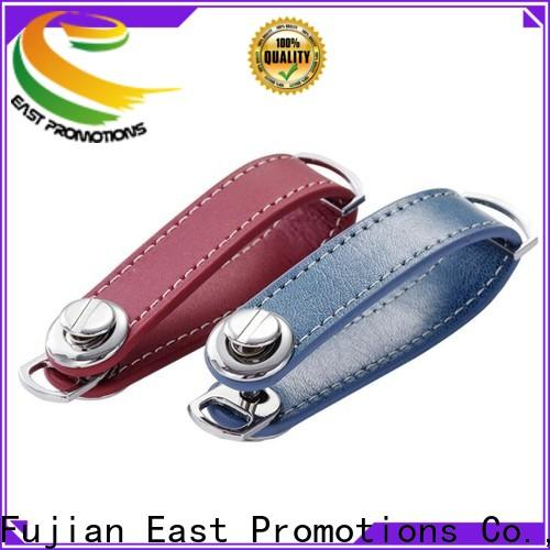 East Promotions top leather keychain supplies from China bulk production