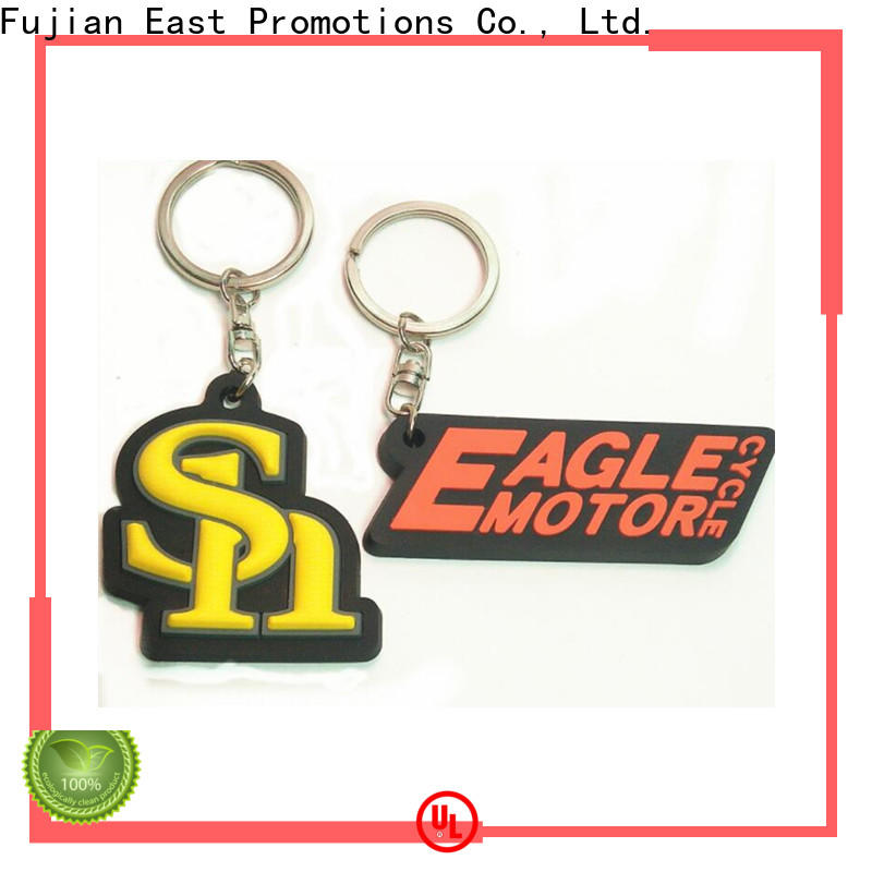 East Promotions low-cost pvc key chain supplier bulk buy