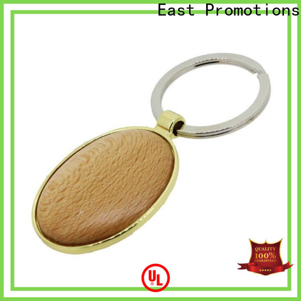 practical wood slice keychain factory direct supply for key