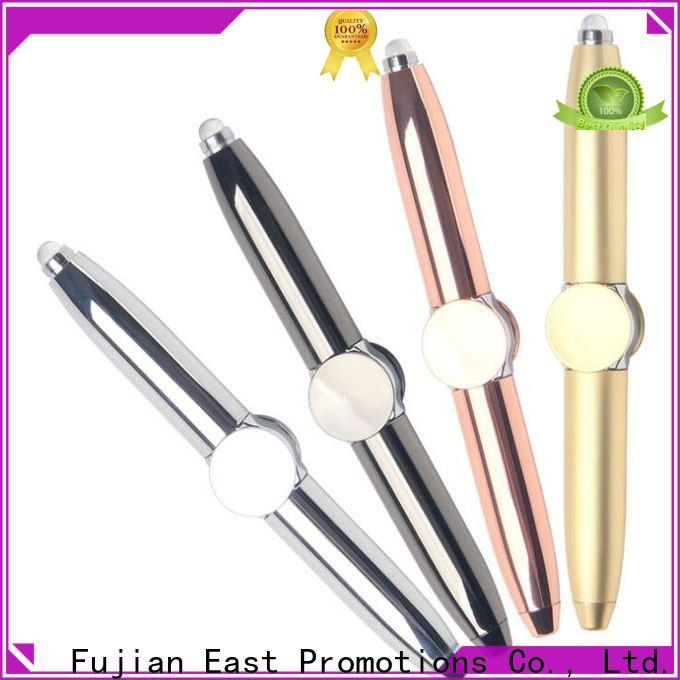 East Promotions metal retractable pen factory for giveaway