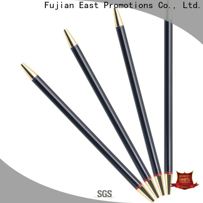 East Promotions metal body pen manufacturer for giveaway