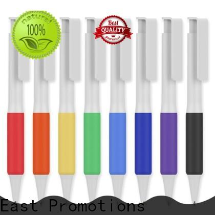 East Promotions plastic pens with logo series bulk buy