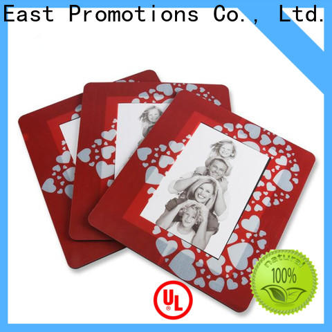 East Promotions top quality mouse pad with wrist support with good price bulk production